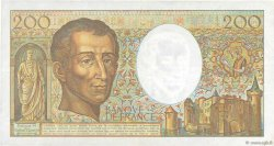 200 Francs MONTESQUIEU FRANCE  1991 F.70.11 TTB