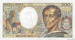 200 Francs MONTESQUIEU FRANCE  1991 F.70.11 TTB+