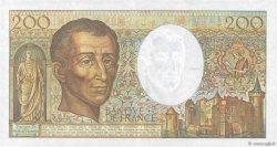 200 Francs MONTESQUIEU FRANCE  1991 F.70.11 SUP+