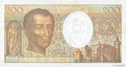 200 Francs MONTESQUIEU FRANCE  1992 F.70.12a TTB+