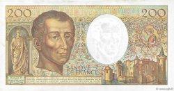 200 Francs MONTESQUIEU FRANCE  1990 F.70.10c SUP