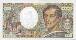 200 Francs MONTESQUIEU FRANCE  1992 F.70.12b SUP