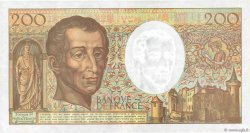 200 Francs MONTESQUIEU FRANCE  1992 F.70.12c TTB+