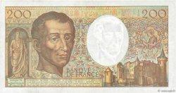 200 Francs MONTESQUIEU FRANCE  1992 F.70.12c pr.SUP