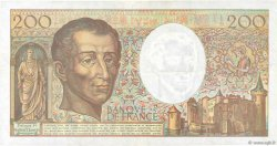 200 Francs MONTESQUIEU FRANCE  1992 F.70.12c pr.SUP