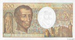 200 Francs MONTESQUIEU FRANCE  1992 F.70.12c TTB