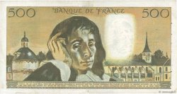 500 Francs PASCAL FRANCE  1969 F.71.03 TB