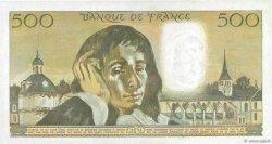 500 Francs PASCAL FRANCE  1972 F.71.08 pr.SPL