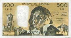 500 Francs PASCAL FRANCE  1972 F.71.08 TTB+