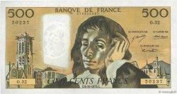 500 Francs PASCAL FRANCE  1973 F.71.09 SUP+