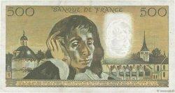 500 Francs PASCAL FRANCE  1973 F.71.10 TTB