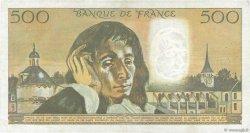 500 Francs PASCAL FRANCE  1974 F.71.12 TTB