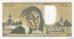 500 Francs PASCAL FRANCE  1975 F.71.13 pr.SPL