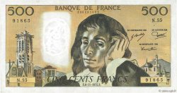 500 Francs PASCAL FRANCE  1975 F.71.13 TTB