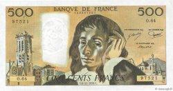 500 Francs PASCAL FRANCE  1976 F.71.15 SUP