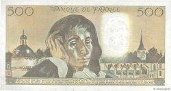 500 Francs PASCAL FRANCE  1983 F.71.28 TTB