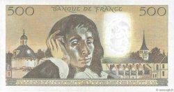 500 Francs PASCAL FRANCE  1985 F.71.33 TTB+
