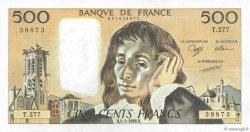 500 Francs PASCAL FRANCE  1988 F.71.38 SPL