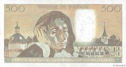 500 Francs PASCAL FRANCE  1988 F.71.39 pr.SUP