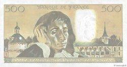 500 Francs PASCAL FRANCE  1990 F.71.43 SUP