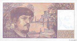 20 Francs DEBUSSY FRANCE  1980 F.66.01 SPL