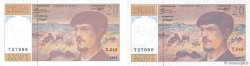 20 Francs DEBUSSY à fil de sécurité FRANCE  1993 F.66bis.05 pr.NEUF