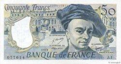 50 Francs QUENTIN DE LA TOUR FRANCE  1976 F.67.01 SPL