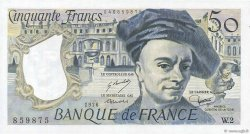 50 Francs QUENTIN DE LA TOUR FRANCE  1976 F.67.01 SPL+
