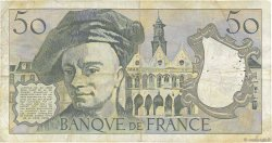 50 Francs QUENTIN DE LA TOUR FRANCE  1976 F.67.01 TB