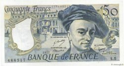 50 Francs QUENTIN DE LA TOUR FRANCE  1977 F.67.02 SPL