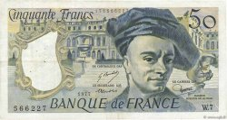 50 Francs QUENTIN DE LA TOUR FRANCE  1977 F.67.02 TTB
