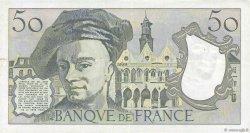 50 Francs QUENTIN DE LA TOUR FRANCE  1977 F.67.02 TTB