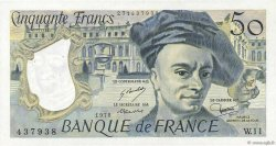 50 Francs QUENTIN DE LA TOUR FRANCE  1978 F.67.03 SUP+