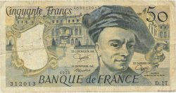 50 Francs QUENTIN DE LA TOUR FRANCE  1979 F.67.05 B