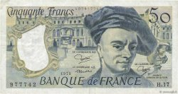 50 Francs QUENTIN DE LA TOUR FRANCE  1979 F.67.05 TB+