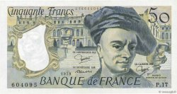 50 Francs QUENTIN DE LA TOUR FRANCE  1979 F.67.05 SPL