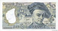 50 Francs QUENTIN DE LA TOUR FRANCE  1980 F.67.06 SPL