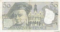 50 Francs QUENTIN DE LA TOUR FRANCE  1980 F.67.06 TTB