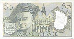 50 Francs QUENTIN DE LA TOUR FRANCE  1983 F.67.09 SUP