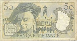 50 Francs QUENTIN DE LA TOUR FRANCE  1983 F.67.09 B