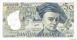 50 Francs QUENTIN DE LA TOUR FRANCE  1984 F.67.10 SUP+
