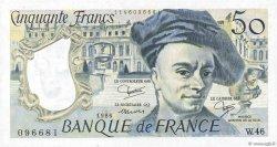 50 Francs QUENTIN DE LA TOUR FRANCE  1986 F.67.12 SUP
