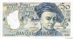 50 Francs QUENTIN DE LA TOUR FRANCE  1988 F.67.14 SUP