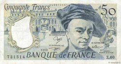 50 Francs QUENTIN DE LA TOUR FRANCE  1990 F.67.16 pr.TTB