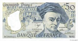 50 Francs QUENTIN DE LA TOUR FRANCE  1990 F.67.16 pr.NEUF