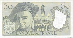 50 Francs QUENTIN DE LA TOUR FRANCE  1991 F.67.17 SUP