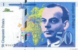 50 Francs SAINT-EXUPÉRY FRANCE  1992 F.72.01b pr.SPL