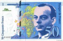 50 Francs SAINT-EXUPÉRY FRANKREICH  1993 F.72.02 ST