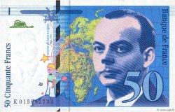 50 Francs SAINT-EXUPÉRY Modifié FRANCE  1994 F.73.01a aUNC