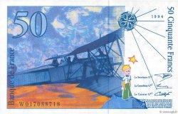 50 Francs SAINT-EXUPÉRY Modifié FRANCE  1994 F.73.01a SPL
